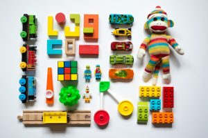 A variety of toys for kids online
