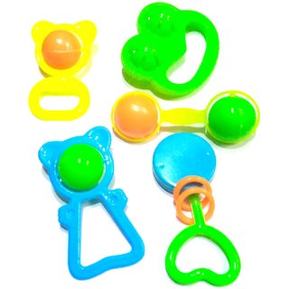 Colourful Rattles for toddlers - The best toys for kids online