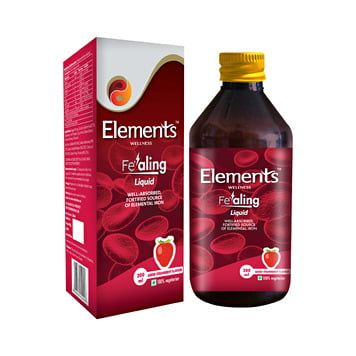 Elements iron supplement for kids