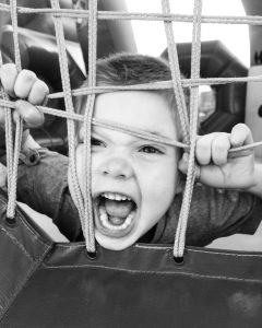 Aggression in children - leads to the destruction
