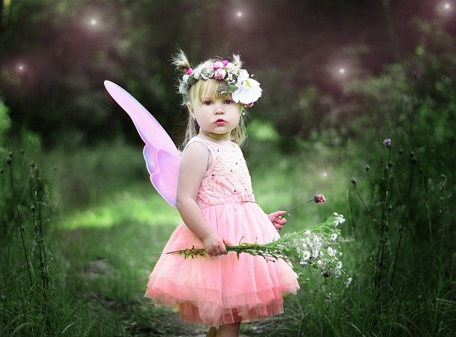 Fairy dress for little girls easaily available at online stores