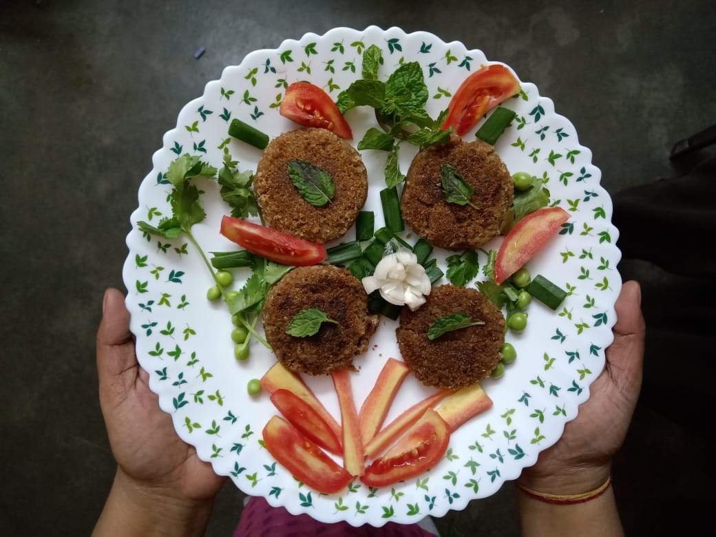 Delicious vegetable cutlets for kids - A healthy lunch box recipe for kids