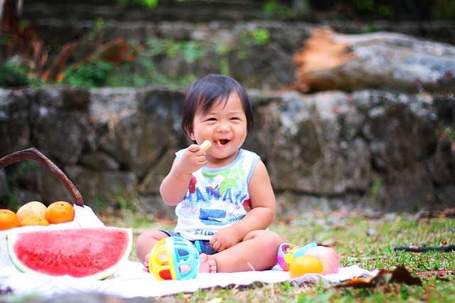 Healthyeating ultimately makes a child happy